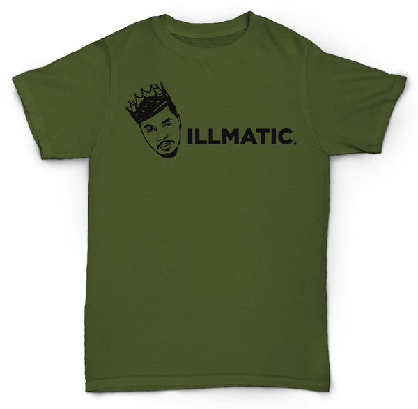 NAS ILLMATIC T SHIRT HIP HOP RAP MC DJ