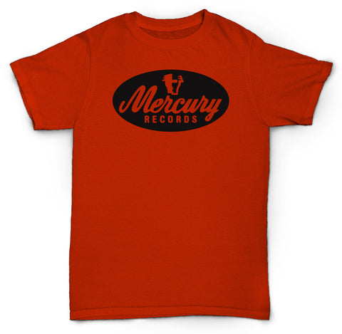 MERCURY RECORDS T SHIRT SOUL ROCK FUNK JAZZ POP VINYL RECORDS 45