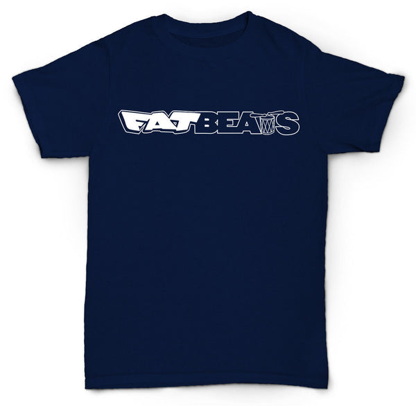 FAT BEATS T SHIRT VINTAGE HIP-HOP RANDOM NY WU