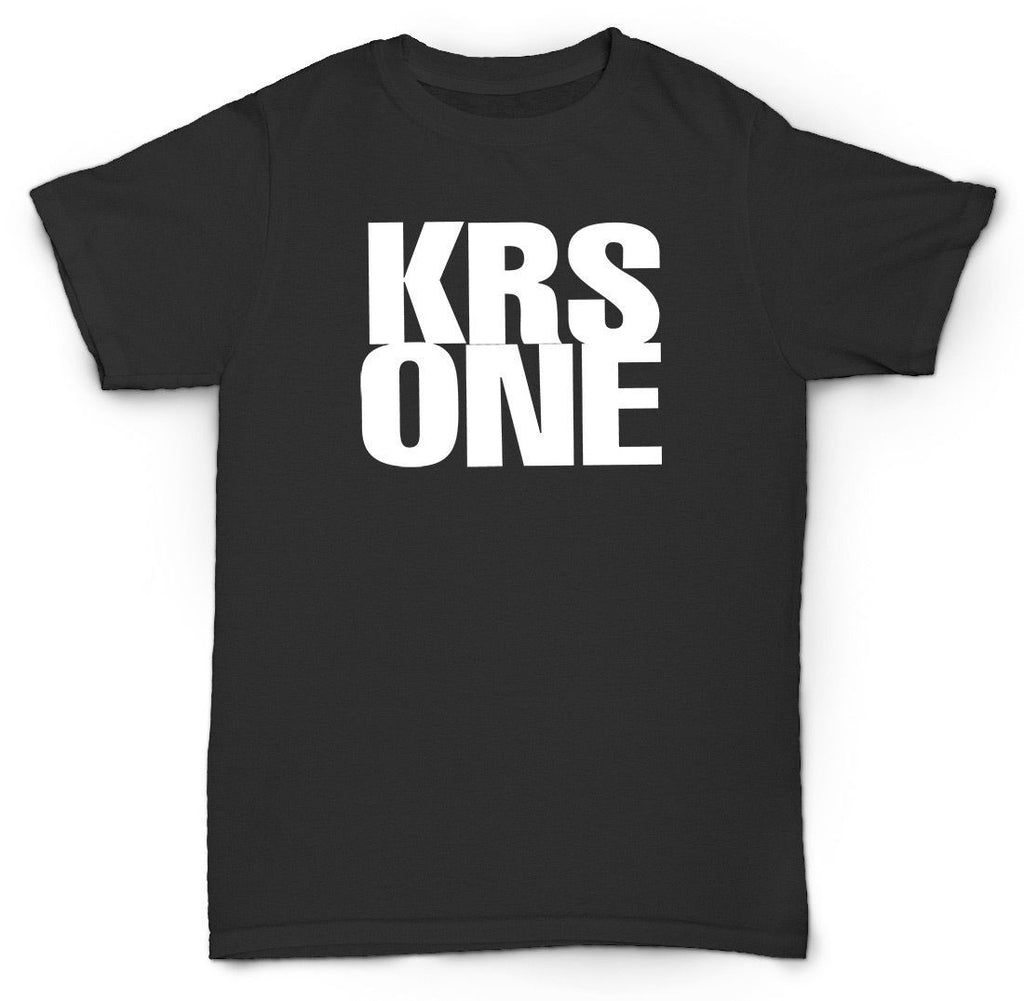KRS ONE T SHIRT WORDS HIP HOP UNDERGROUND RAP GOLDEN ER
