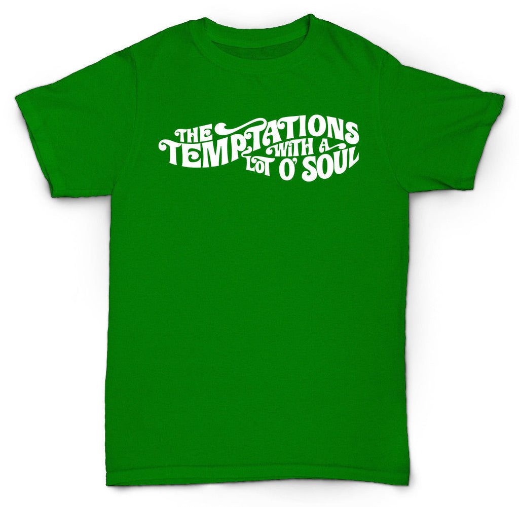 THE TEMPTATIONS T SHIRT VINTAGE BREAKS MOTOWN