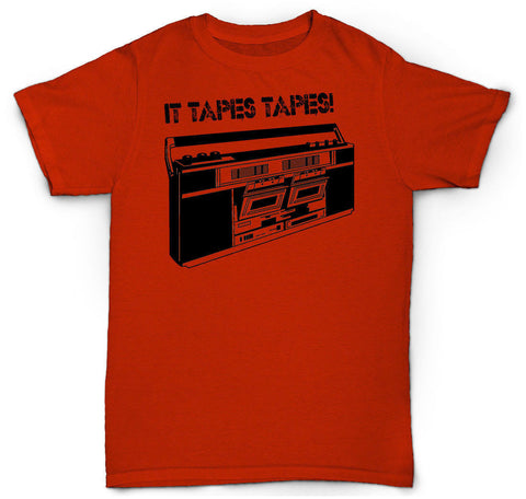VINTAGE CASSETTE TAPE T SHIRT DECK TURNTABLE SP 1200