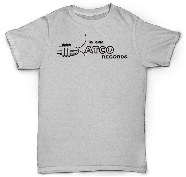ATCO RECORDS T SHIRT 45 VINYL RARE SOUL BREAK FUNK