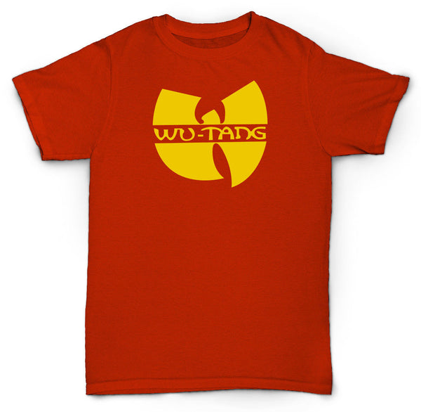 WU TANG CLAN T SHIRT CREAM HIP HOP RZA GZA RARE