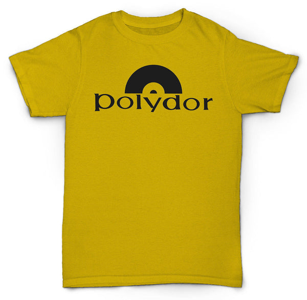 POLYDOR RECORDS T SHIRT VINTAGE COOL BREAKS