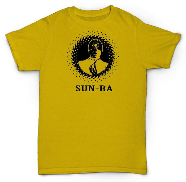 SUN RA T SHIRT SPACE IS THE PLACE FREE JAZZ SOUL FUNK BREAKS