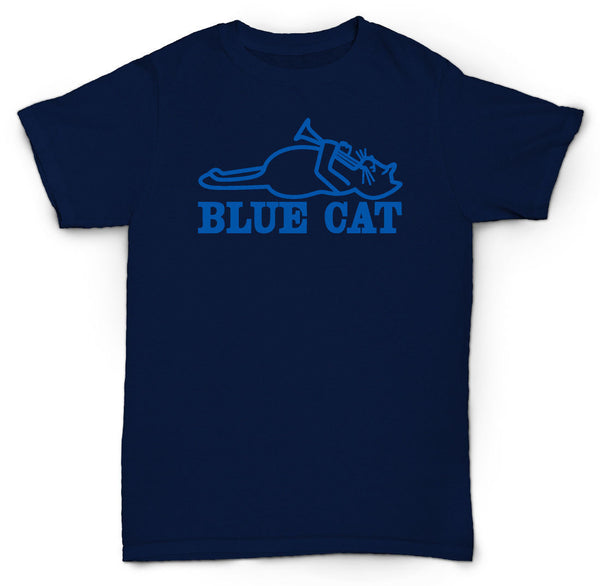 BLUE CAT RECORDS T SHIRT TROJAN SKA VINYL MOD