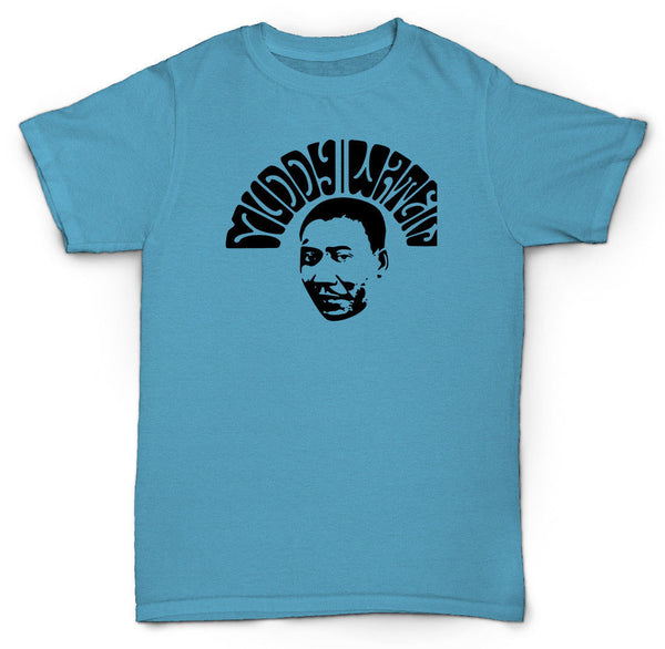 MUDDY WATERS T SHIRT JAZZ FUNK SOUL BLUES RARE