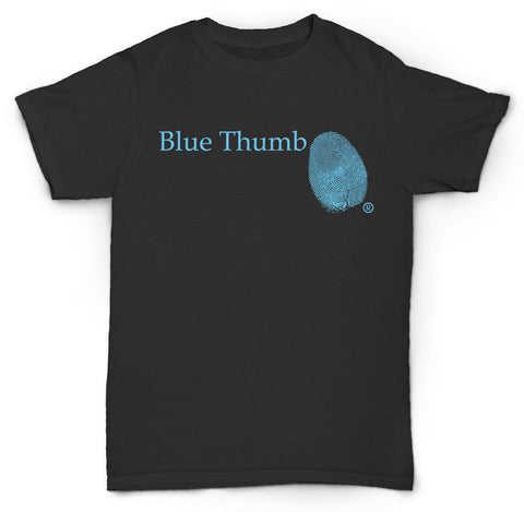 BLUE THUMB T SHIRT VINTAGE JAZZ SOUL RECORD DJ
