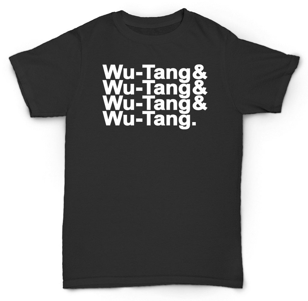 WU-TANG CLAN T SHIRT NAMES GHOSTFACE METHODMAN GZA RZA