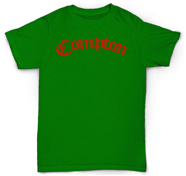 COMPTON T SHIRT EASY E ICE CUBE NWA CITY HIP HOP