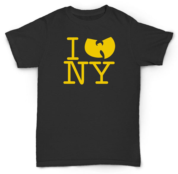 WU TANG CLAN LOVE NY T SHIRT METHOD MAN RZA GZA HIP HOP