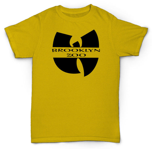 BROOKLYN ZOO WU TANG T SHIRT RZA METHOD MAN HIP HOP DJ