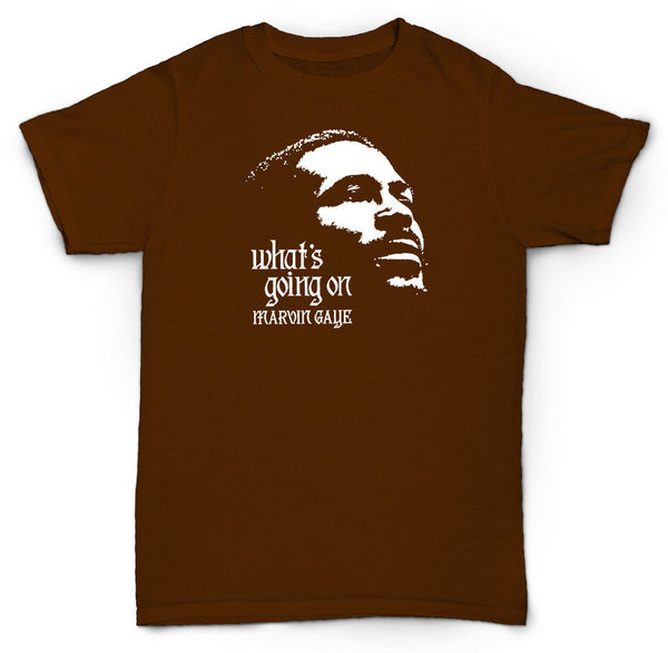 VINTAGE MARVIN GAYE T SHIRT MOTOWN COOL RETRO