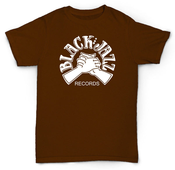 BLACK JAZZ RECORDS T SHIRT VINTAGE BREAKS SOUL