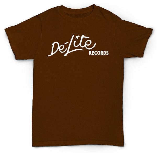 DE-LITE RECORDS T SHIRT SOUL BREAKS FUNK DISCO