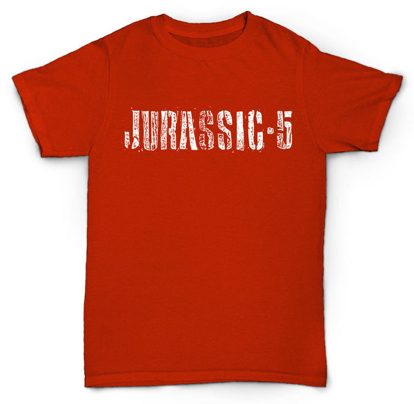 JURASSIC-5 T SHIRT HIP-HOP COOL DILATED RETRO