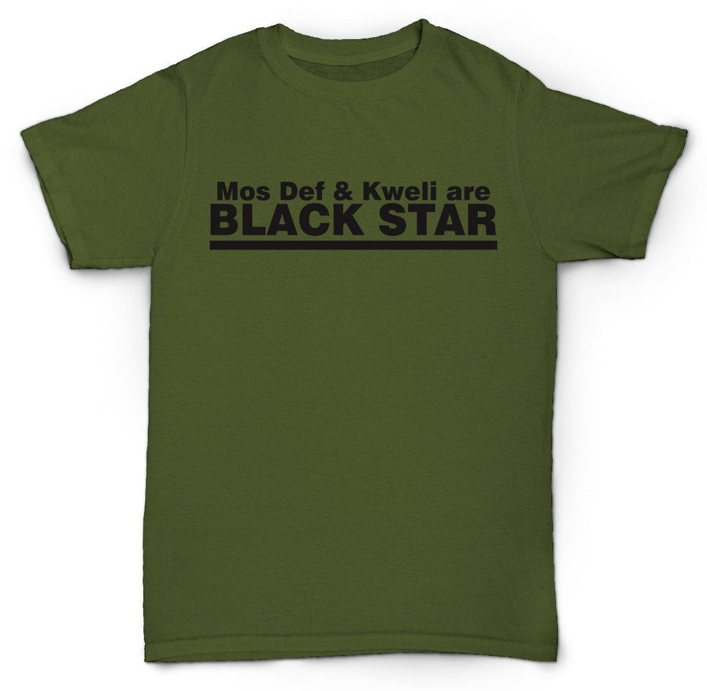 BLACK STAR T SHIRT MOS DEF TALIB KWELI PETE ROCK SP MPC