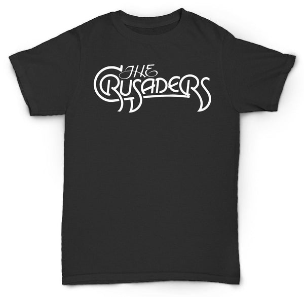 THE CRUSADERS T SHIRT VINTAGE SOUL FUNK COOL