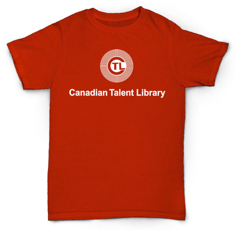 CANADIAN TALENT LIBRARY T SHIRT BREAKS DRUMS RECORDS 12