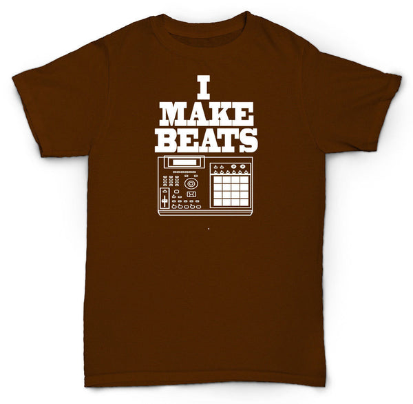 I MAKE BEATS T SHIRT MPC SP1200 RECORDS VINYL PETE ROCK