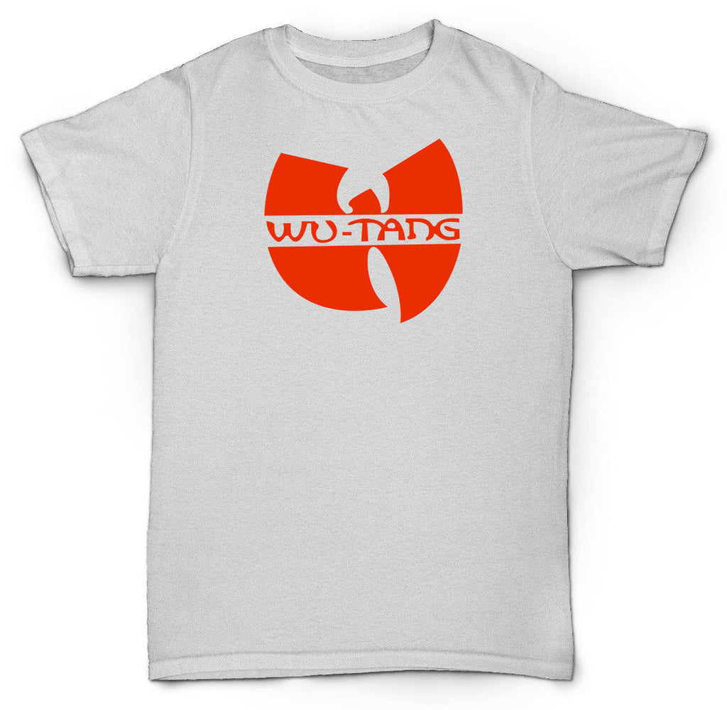WU TANG CLAN T SHIRT CREAM HIP HOP RZA RAP RAEKWON