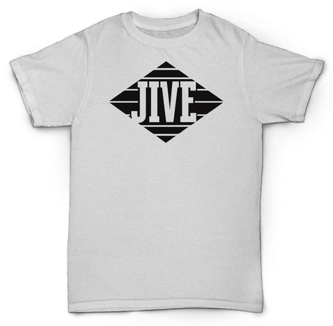 JIVE RECORDS T SHIRT HIP HOP R & B SOUL RARE SHIRT TEE SHIRT
