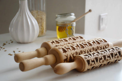 Happy Family activity with Rolling Pins