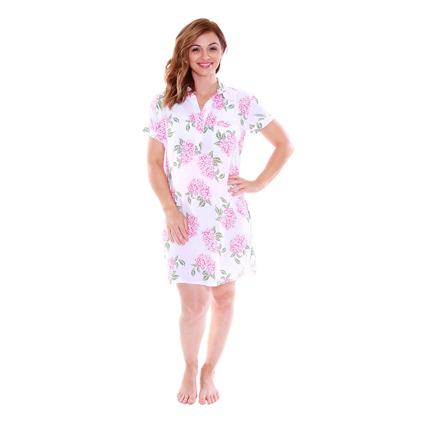 PRE ORDER OPEN ARRIVING W/E 13/09/17  Felicity Luxurious Soft Floral Nursing Nightshirt