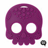 Helles Teeth Sugar Skull Teething Toy in Purple