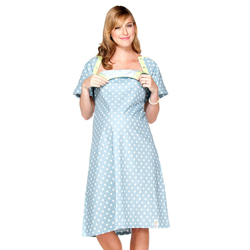 Nicole Gownie Maternity Delivery Labor Hospital Birthing Gown - HACCHE