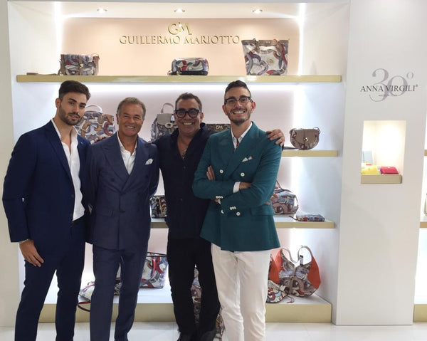Anna Virgili and Guillermo Mariotto present the new bags collection