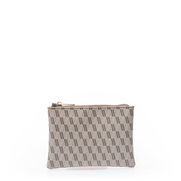 Bustina Media Monogram - Brown