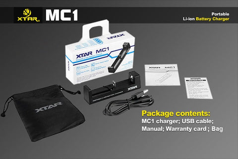 MC1 PORTABLE Li-ion BATTERY CHARGER