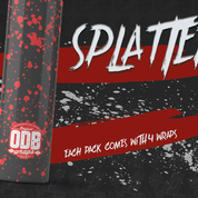 SPLATTER ODB WRAPS x 4 PACK