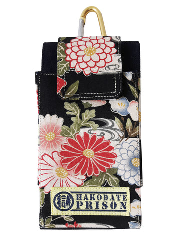 The Marugoku Chrysanthemum Smartphone Case sold by Abaeran Japanese Artisan Goods is a distinctive fashion accessory handmade in Japan.