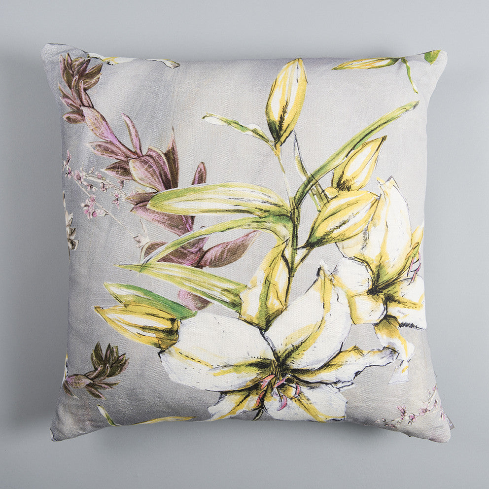 Cressida Lily square cushion