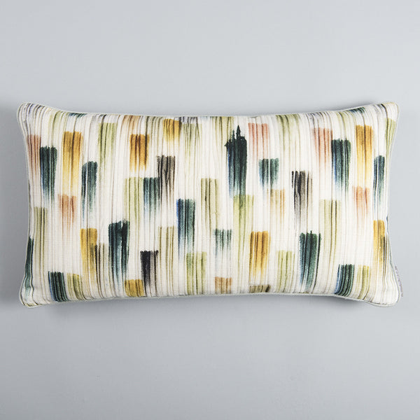 Pleated Brushmark Mini Cushion