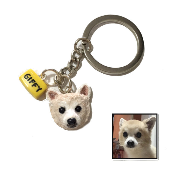 Keychain of Pet (custom made)
