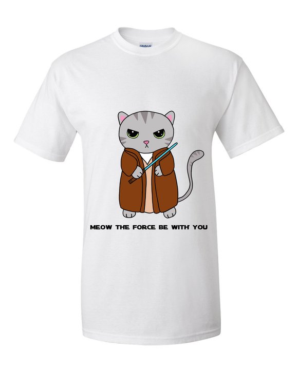 Meow The Force Be with You (T-Shirt)