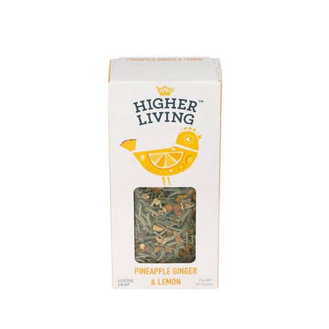Pineapple Ginger & Lemon - Loose Tea 75g