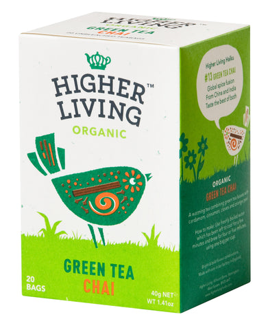 Green Tea Chai 20 Bags