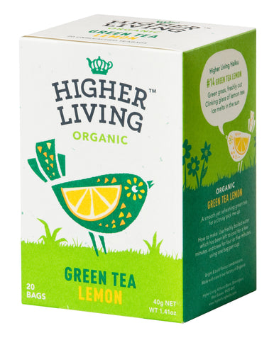 Green Tea Lemon 20 Bags