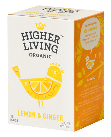 Lemon & Ginger Tea 15 Bags