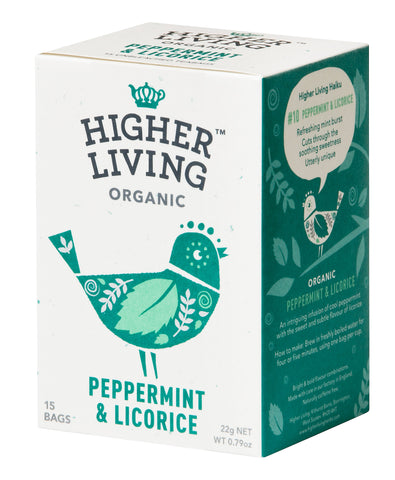 Peppermint & Licorice Tea 15 Bags
