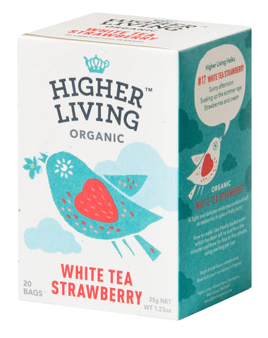 White Tea Strawberry 20 Bags