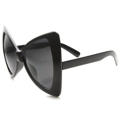 Oversized Bow Tie Design Black Sunglasses