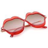 Hot Red Lips Retro Sunglasses