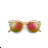 Cat Eye Classic Taupe Frame Orange Retro Sunglasses