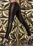 WOMAN LEGGINS SHINE BROWN